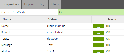 Alerting & Audit Tables - Google Pub-Sub BigQuery documentation