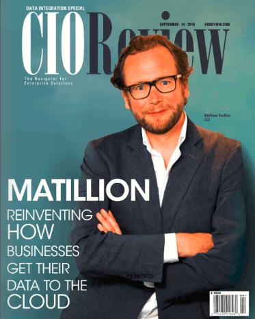 CIO Review Matillion Cover