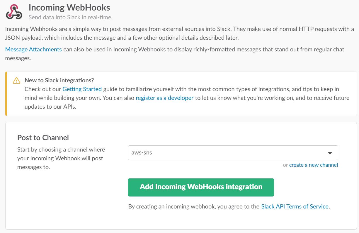 Integrating Slack with Matillion - incoming webhook