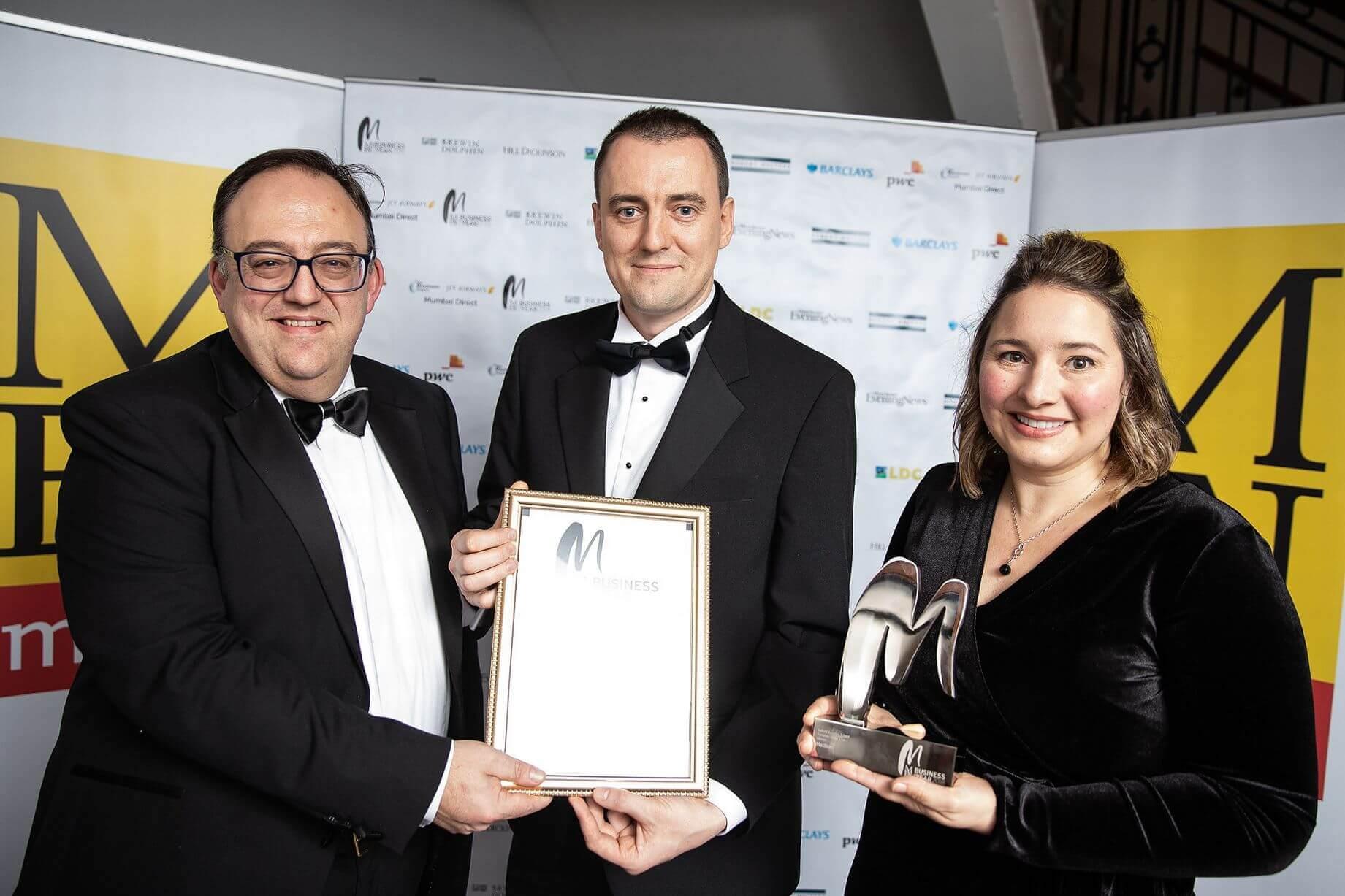 Matillion wins MEN Business of the Year Award