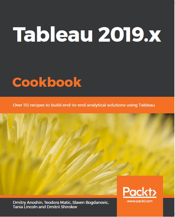 Tableu 2019.x Cookbook
