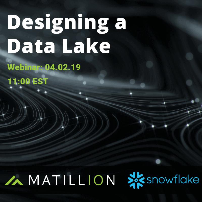 Designing a Data Lake Webinar