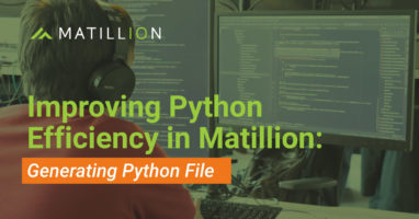 Improving Python Efficiency in Matillion: Offload Large