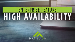In-Detail: High Availability | Enterprise Feature | Matillion ETL