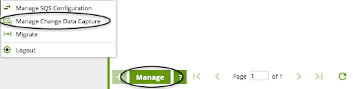 manage cdc