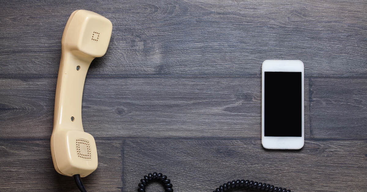Modern vs Traditional ETL: What's the difference? Two phones