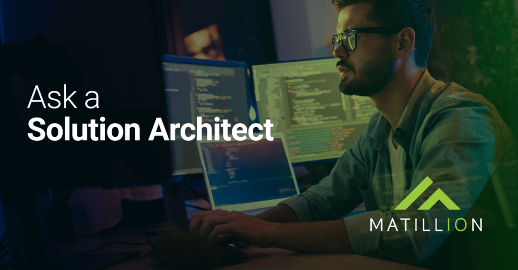 Matillion ETL: Ask a Solution Architect