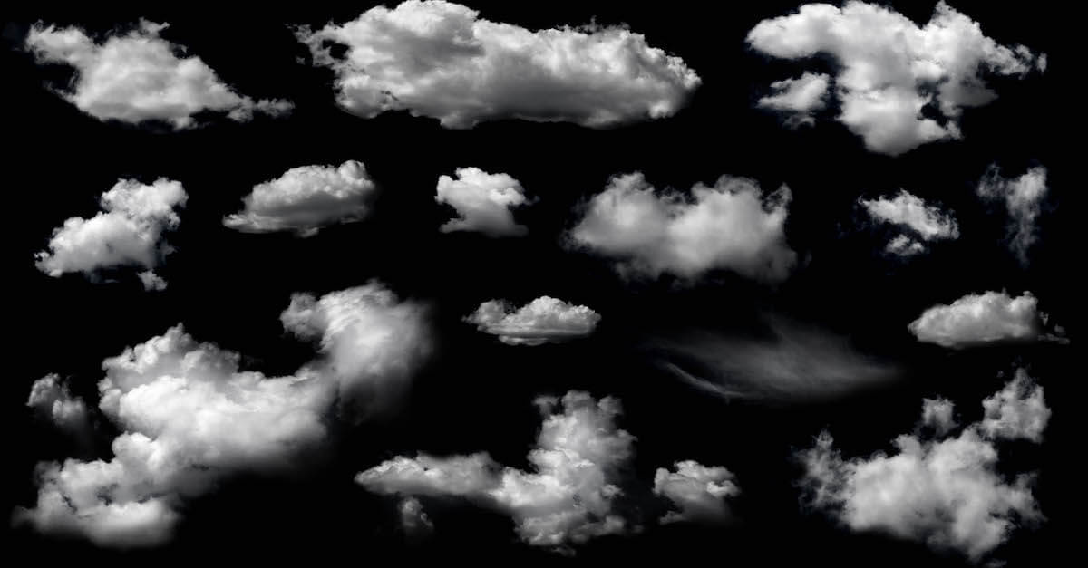 Multi-cloud strategy: This is a photo of several kinds of clouds
