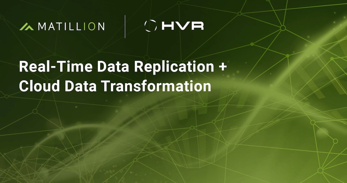 Log-based change data capture and data replication together in a joint solution